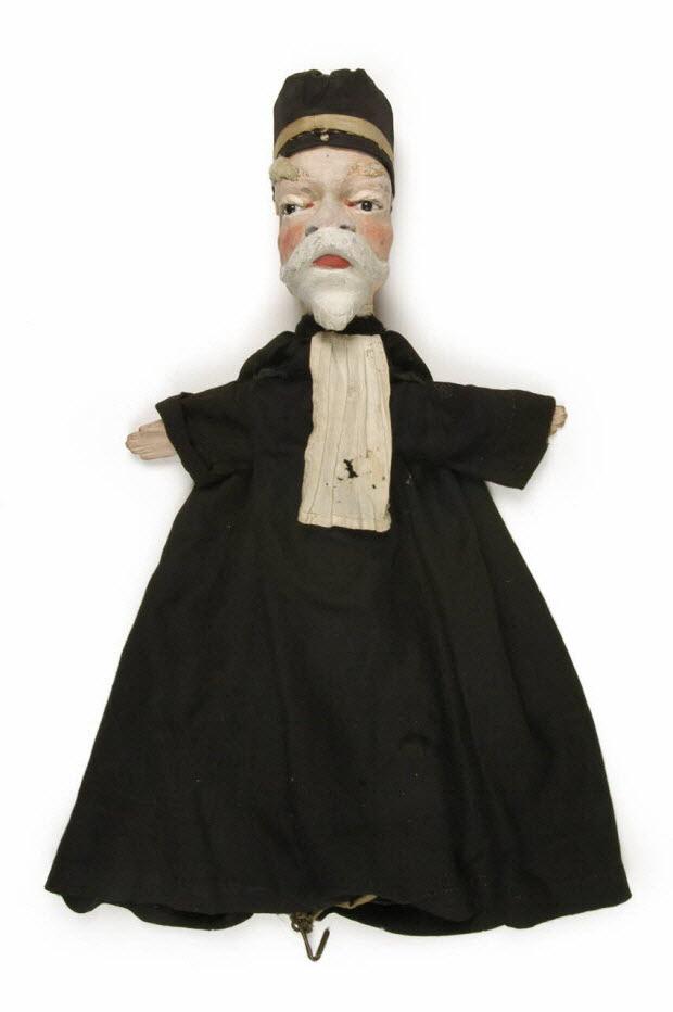 marionnette à gaine - Clovis Hugues