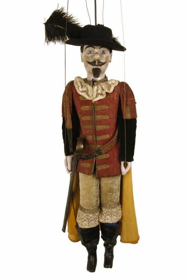 marionnette à tringle et à fils - Cyrano de Bergerac