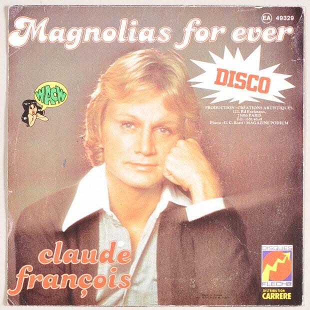 disque 45 tours - Magnolias for ever