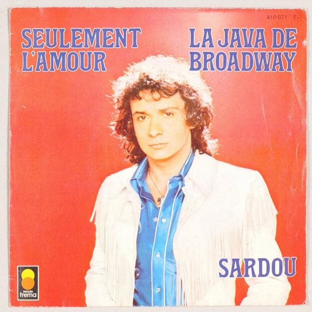 disque 45 tours - La Java de Broadway