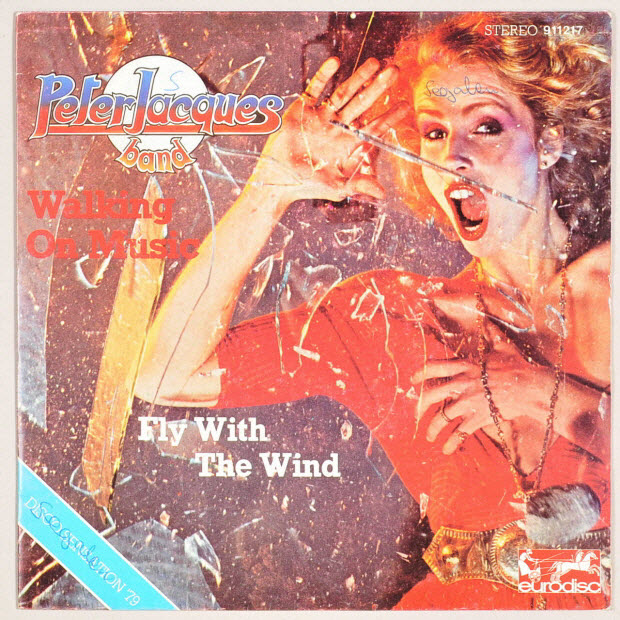 disque 45 tours - Fly with the wind