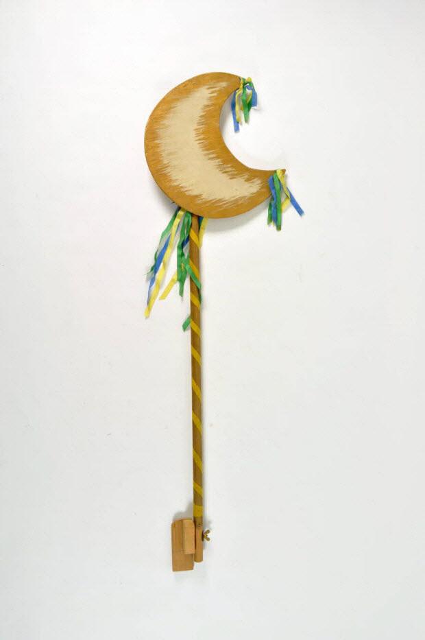 accessoire de marionnette - la lune qui éclaire à cent lieues à la ronde