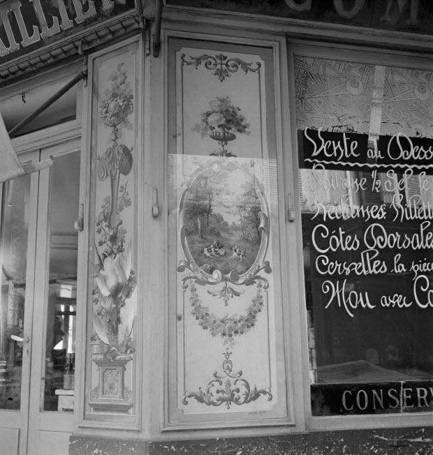 photographie - Enquête sur le décor des boutiques parisiennes conduite par Pierre Soulier (1945-1950)