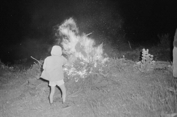 photographie - MNATP. Recherches coopératives sur programme sur l'Aubrac (1964-1966). 2ème mission ethnomusicologie (21 juin-3 juillet 1964)