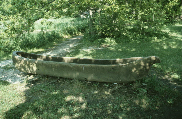photographie - Enquête conduite par Jean Cuisenier en Suède (juin 1986). Île de Gotland: Musée de Bunge