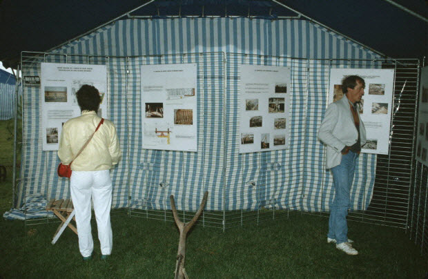 photographie - MNATP. Enquête sur la finale des 32è Championnats de France de labours conduite par Frédéric Duchesne à Boves en Picardie (septembre 1985)