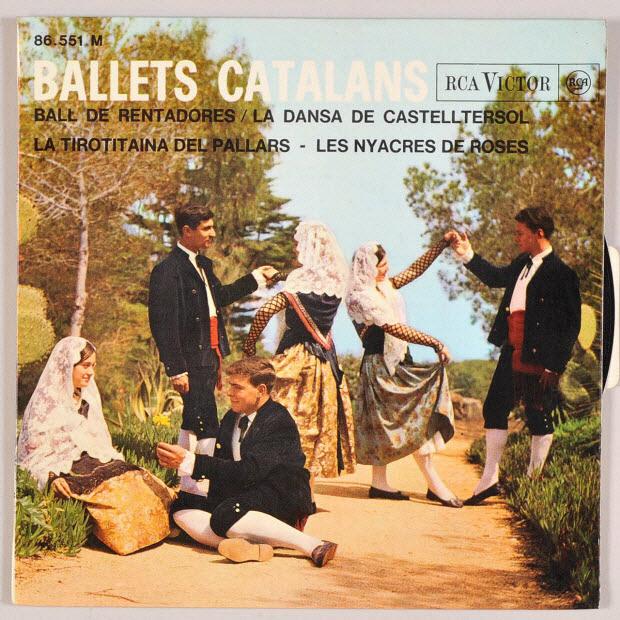 disque 45 tours - La dansa de Castelltersol