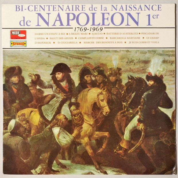 disque 33 tours - Bi-centenaire de la naissance de Napoléon Ier