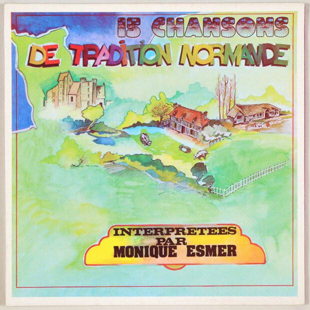 disque 33 tours - Chansons de tradition normande