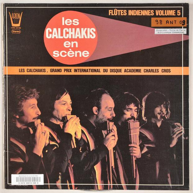 disque 33 tours - Bailecito Calchakis