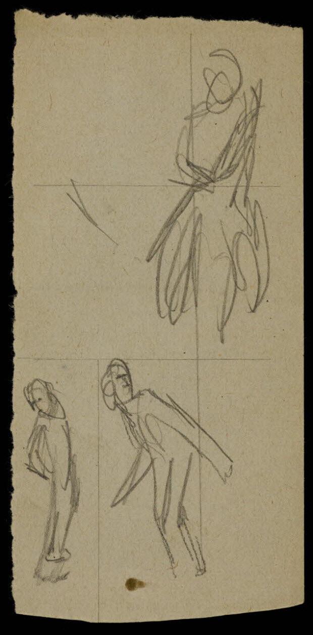 partie d'un ensemble de dessins - Silhouettes