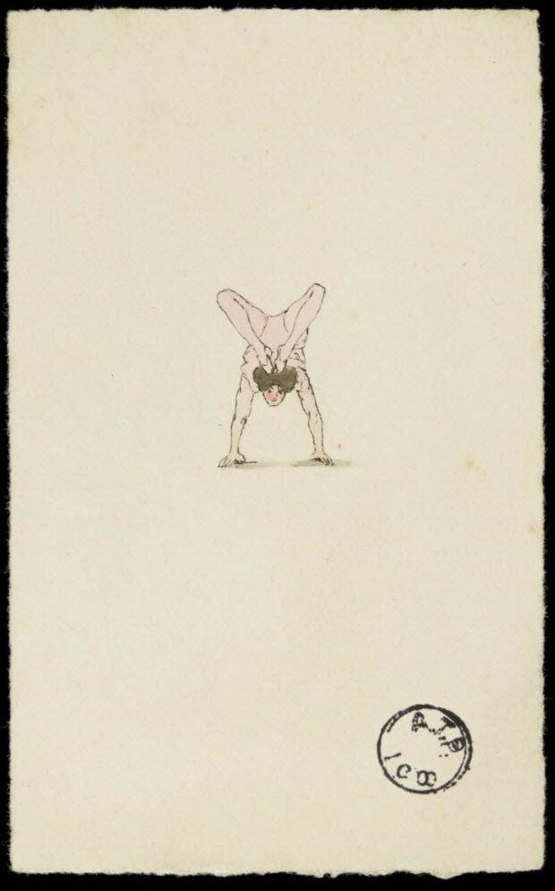 partie d'un ensemble de dessins - Riogoki N°4 (sur son cube)