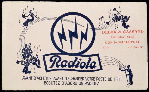 buvard publicitaire - Radiola