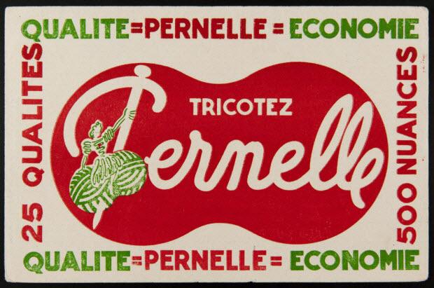 buvard publicitaire - TRICOTEZ Pernelle