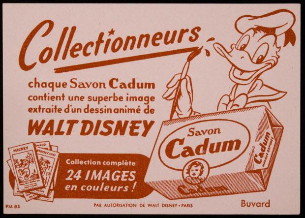 buvard publicitaire - Savon Cadum