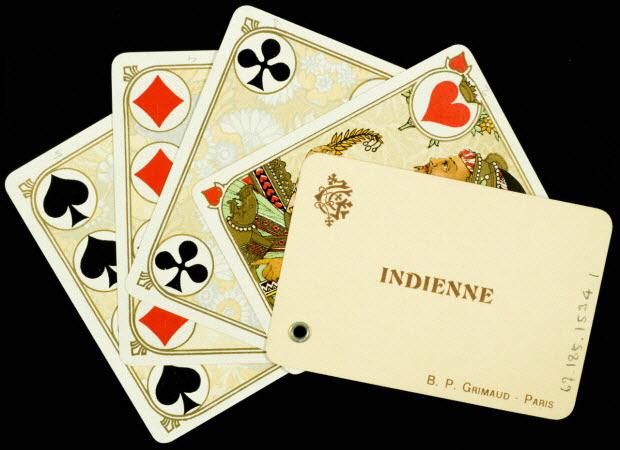 cartes à jouer - INDIENNE