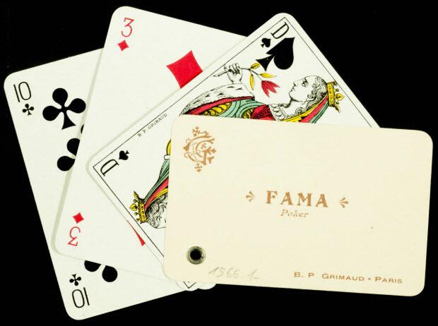 cartes à jouer - FAMA