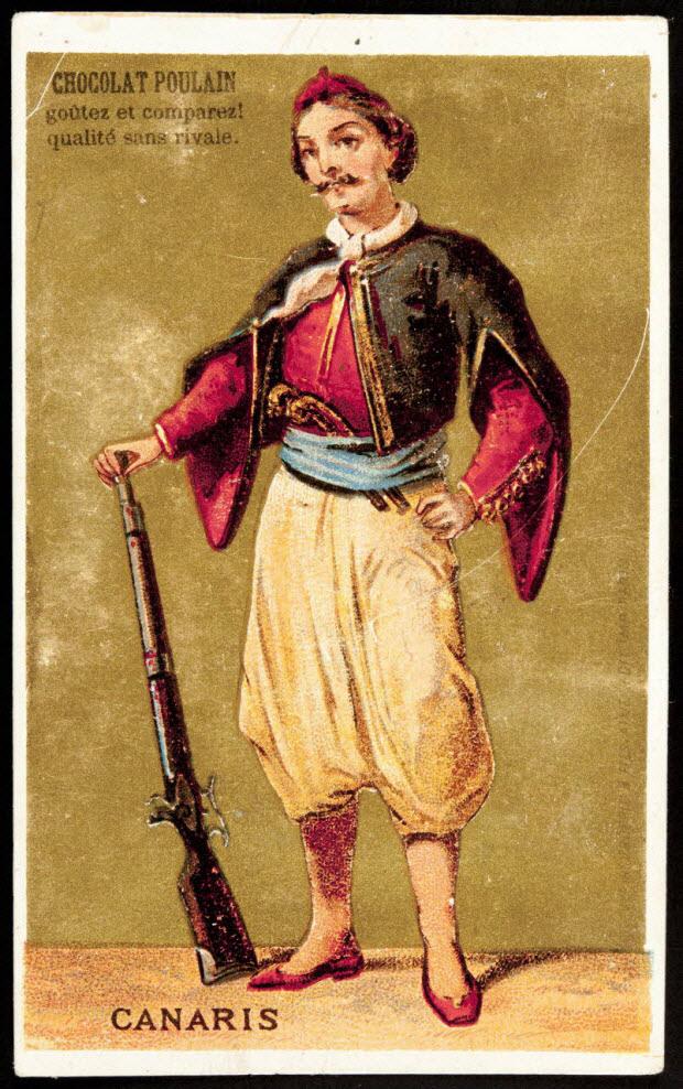 carte réclame - CANARIS