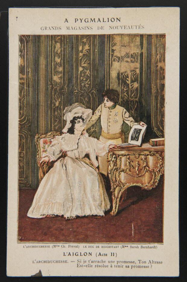 carte réclame - L'AIGLON (Acte II)