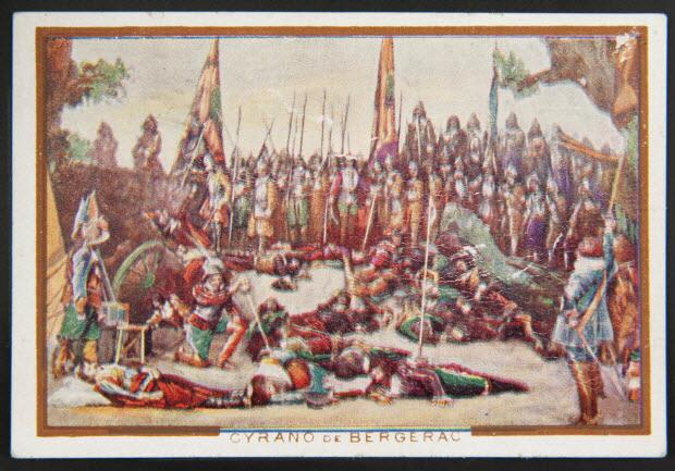 carte réclame - CYRANO DE BERGERAC