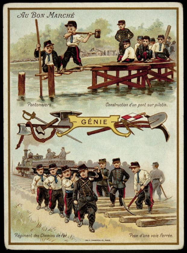 carte réclame - GÉNIE