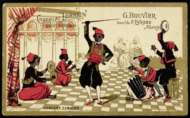 carte réclame - CONCERT TUNISIEN