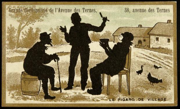 carte réclame - LE FIGARO DE VILLAGE.