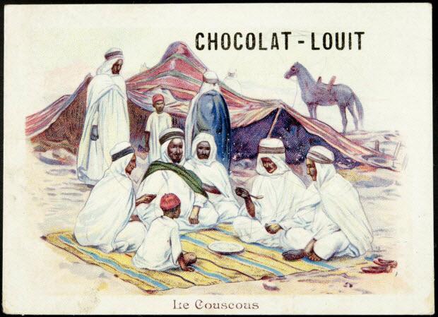 carte réclame - Le Couscous