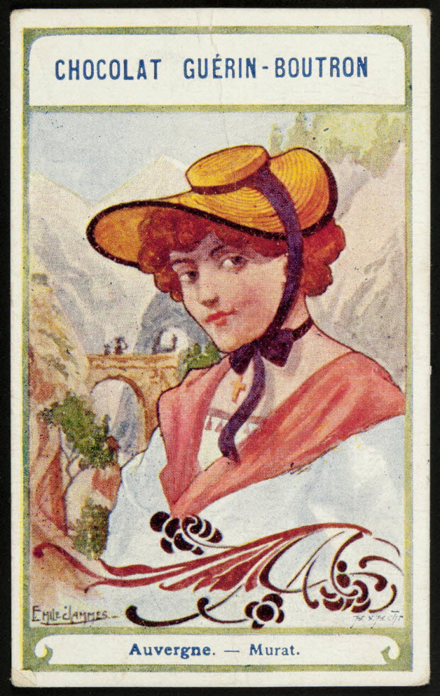 carte réclame - Auvergne. - Murat.