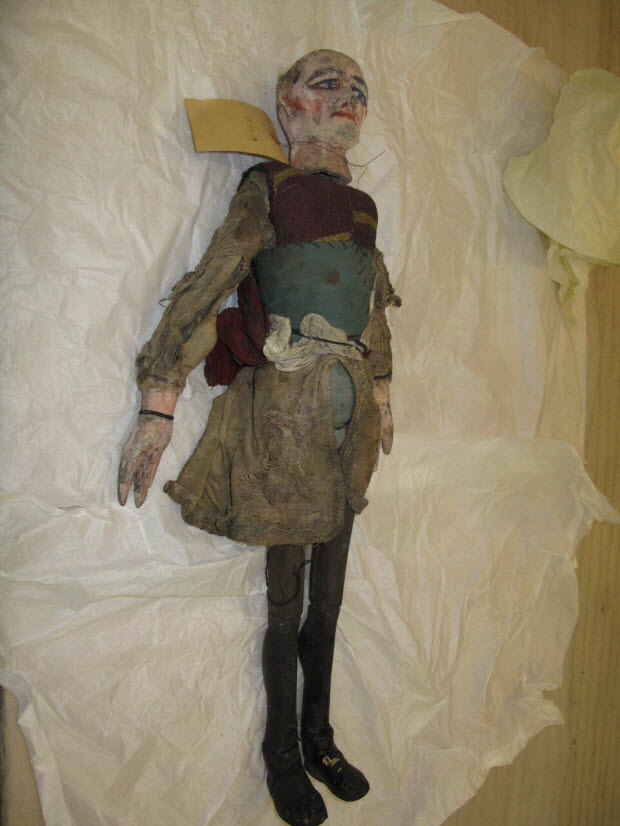marionnette à tringle et à fils - Le Père Jacob