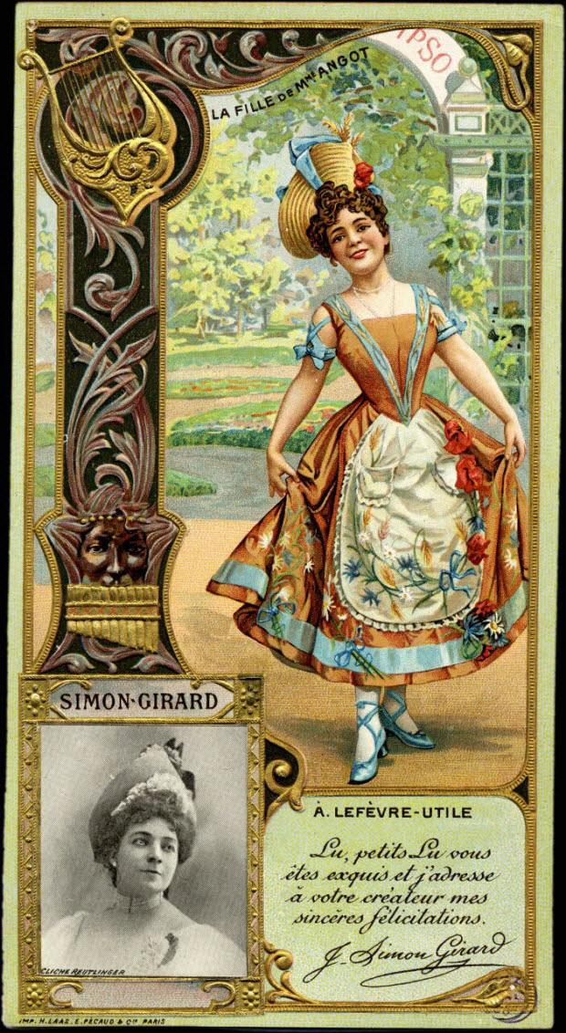 carte réclame - SIMON - GIRARD
