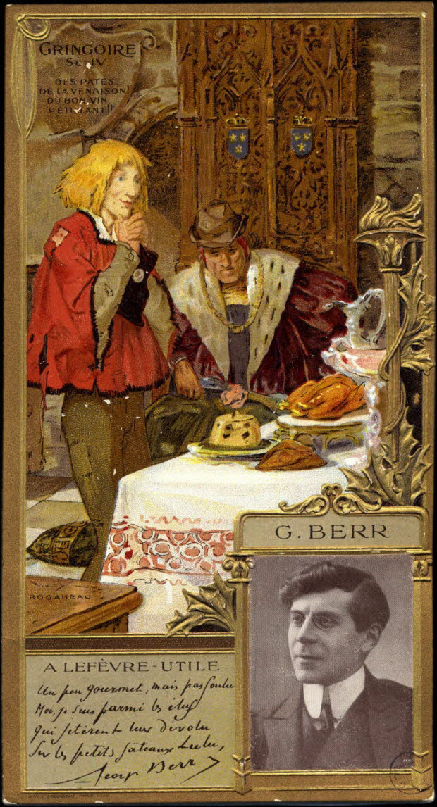 carte réclame - G. BERR