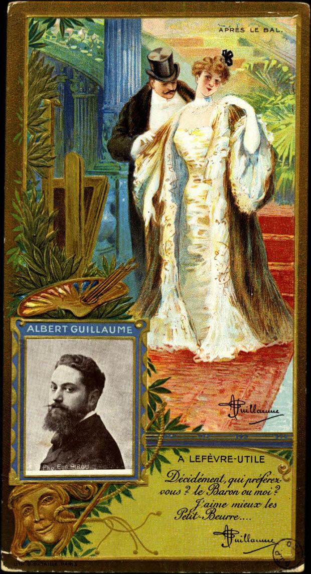 carte réclame - ALBERT GUILLAUME