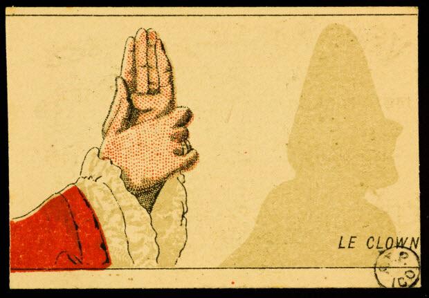 carte réclame - LE CLOWN