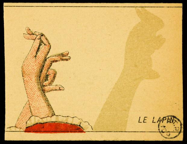 carte réclame - LE LAPIN