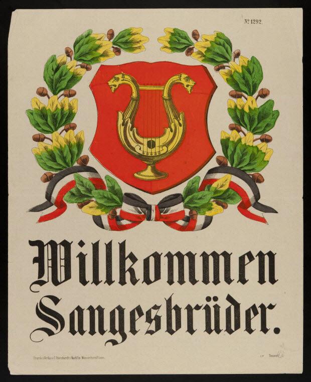 blason - Willkommen Sangesbrüder.
