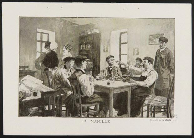 illustration - LA MANILLE