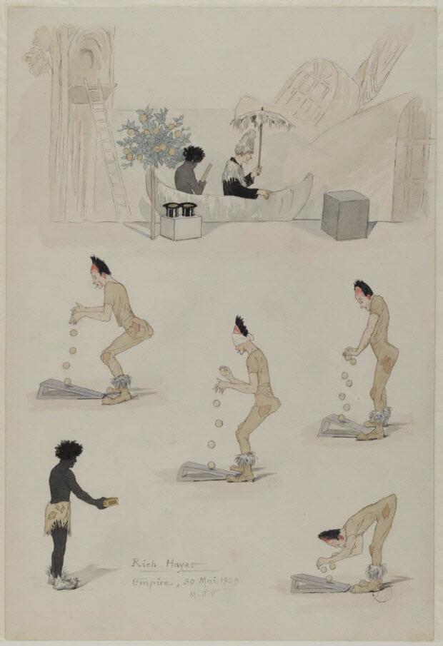 dessin - Roch Hayes Empire, 30 Mai 1929