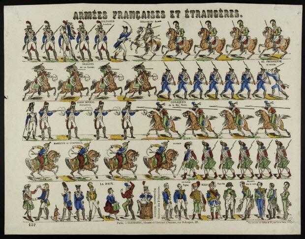 à registres (5) - ARMEES FRANCAISES ET ETRANGERES.