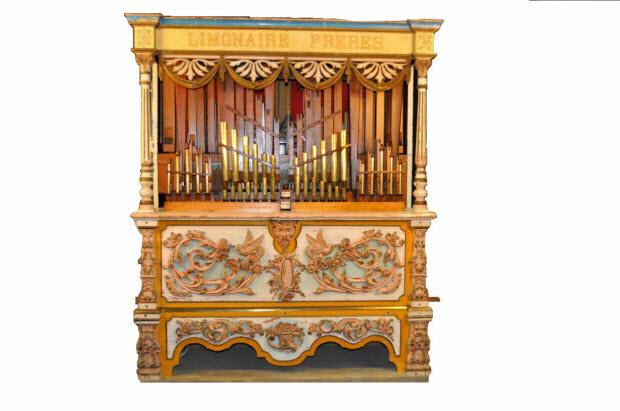 orgue forain - Limonaire à soixante touches