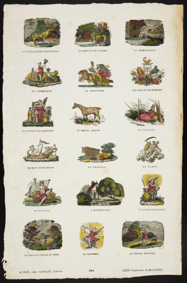 imagerie ancienne - Lexique illustré