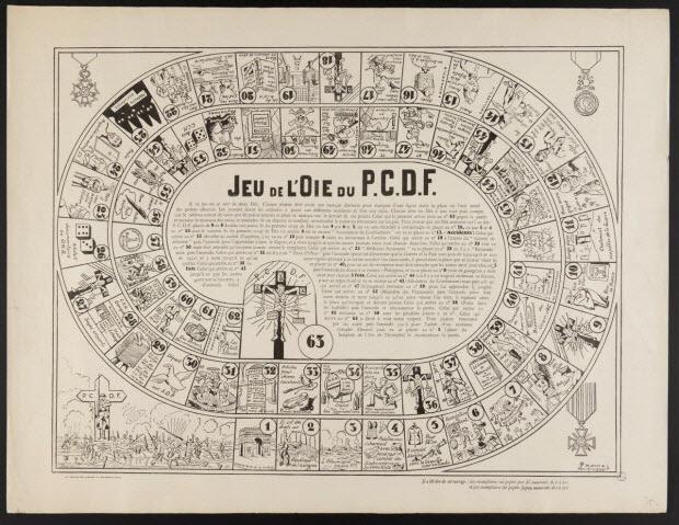 jeu de l'oie - Jeu de l'Oie du P.C.D.F.