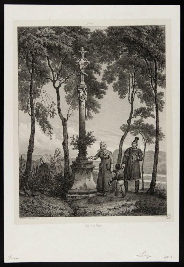 estampe - Croix de Léry