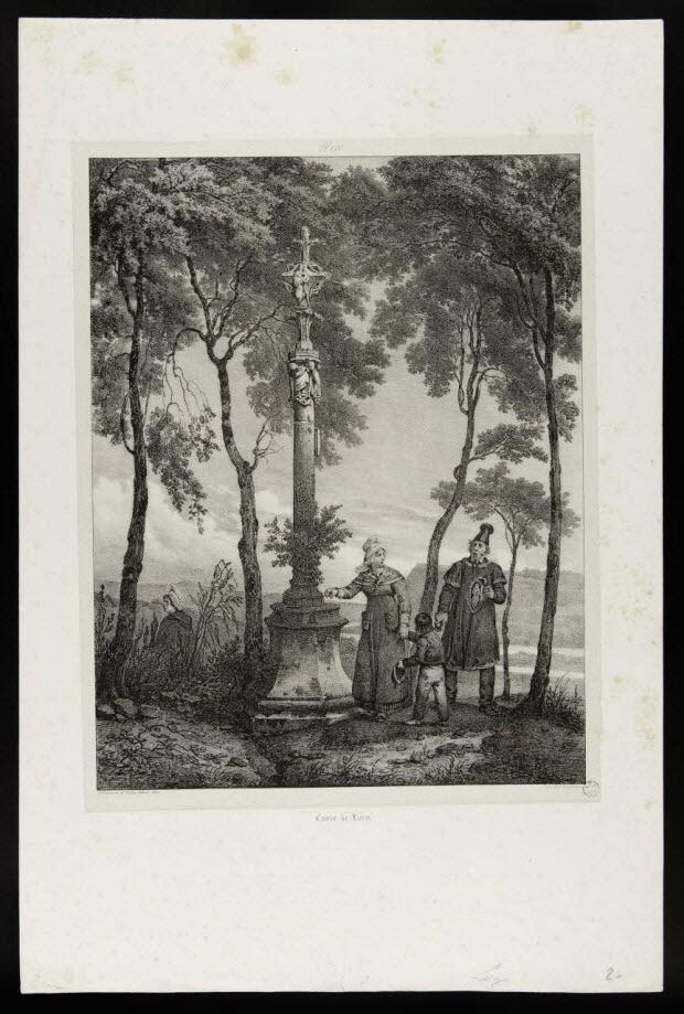 estampe - Croix de Léry.