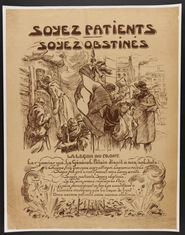 estampe - SOYEZ PATIENTS SOYEZ OBSTINES