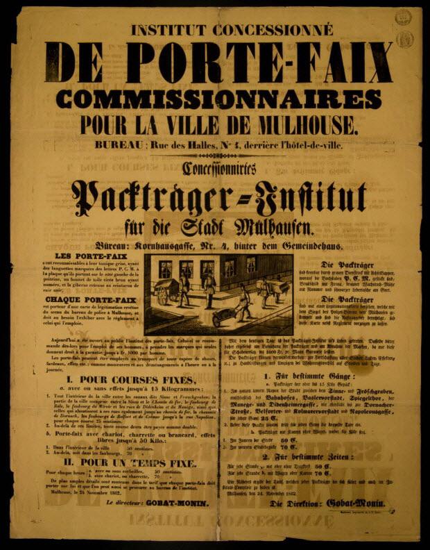 affiche - INSTITUT CONCESSIONNE DE PORTE-FAIX