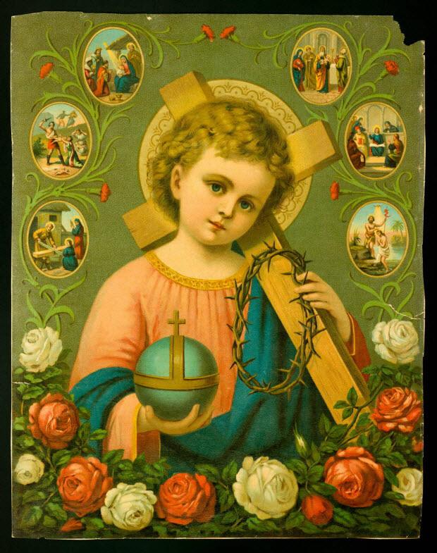 estampe - L'enfant Jésus Christ