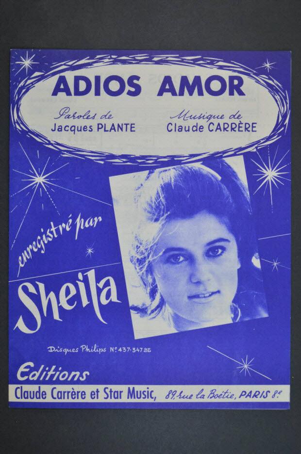 chanson - Adios amor