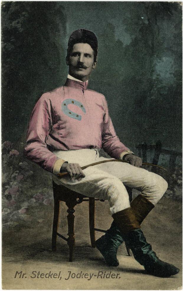 Mr. Steckel, jockey-rider