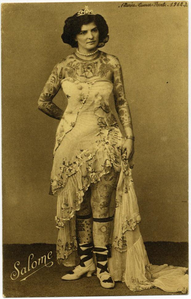 Salomé. Luna Park Paris. (1912).